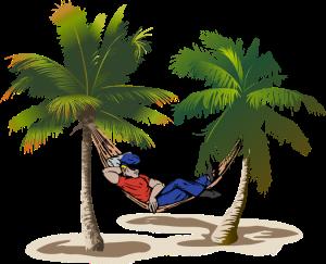 Relaxing-in-a-Hammock
